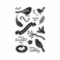 Hero Arts - Clear Photopolymer Stamps - A Little Bird Told Me