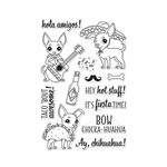 Hero Arts - Clear Acrylic Stamps - It's Fiesta Time