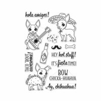 Hero Arts - Clear Photopolymer Stamps - It's Fiesta Time
