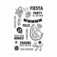 Hero Arts - Clear Photopolymer Stamps - Shake Your Bones