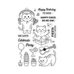 Hero Arts - Clear Acrylic Stamps - Cinco de Meow