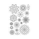 Hero Arts - Clear Photopolymer Stamps - Blossoms for Coloring