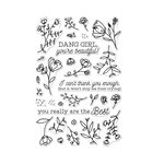 Hero Arts - Clear Photopolymer Stamps - You're Beautiful!