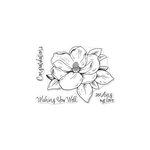 Hero Arts - Clear Acrylic Stamps - Hero Florals - Magnolia
