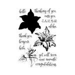 Hero Arts - Clear Acrylic Stamps - Color Layering Tiger Lily