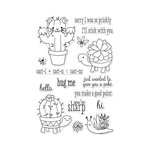 Hero Arts - Clear Photopolymer Stamps - Cactus Animals