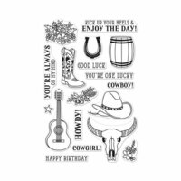 Hero Arts - Clear Photopolymer Stamps - Cowboy Life
