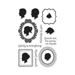 Hero Arts - Clear Acrylic Stamps - Family Portrait