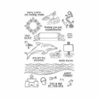 Hero Arts - Clear Photopolymer Stamps - You and Me By The Sea