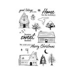 Hero Arts- Season of Wonder Collection - Christmas - Clear Photopolymer Stamps - Home for the Holidays