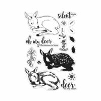 Hero Arts- Season of Wonder Collection - Christmas - Clear Photopolymer Stamps - Color Layering Fawn