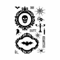 Hero Arts- Season of Wonder Collection - Clear Photopolymer Stamps - Halloween Mirror