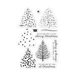 Hero Arts- Season of Wonder Collection - Clear Photopolymer Stamps - Color Layering Christmas Tree