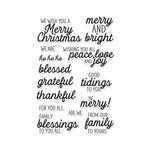 Hero Arts- Season of Wonder Collection - Christmas - Clear Photopolymer Stamps - Winter Holiday Messages