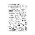 Hero Arts - Clear Acrylic Stamps - County Fair Pig