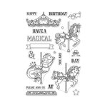 Hero Arts - Clear Acrylic Stamps - Ornate Carousel