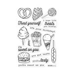 Hero Arts - Clear Acrylic Stamps - You're Sweet As Pie