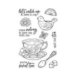 Hero Arts - Clear Photopolymer Stamps - Spill the Tea