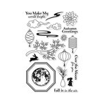 Hero Arts - Clear Photopolymer Stamps - Autumn Moon