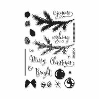 Hero Arts - Christmas - Clear Photopolymer Stamps - Color Layering Trimmings