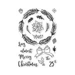 Hero Arts - Clear Photopolymer Stamps - Winter Wreath