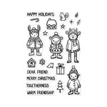 Hero Arts - Clear Photopolymer Stamps - Warm Animals