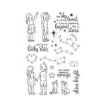 Hero Arts - Clear Photopolymer Stamps - Lucky Star
