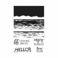 Hero Arts - Clear Photopolymer Stamps - Color Layering Waves