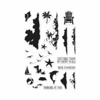 Hero Arts - Clear Photopolymer Stamps - Color Layering Sea & Sky