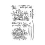 Hero Arts - Clear Photopolymer Stamps - Beautiful Day Agapanthus