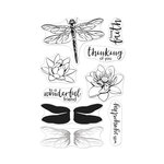 Hero Arts - Clear Photopolymer Stamps - Color Layering Dragonfly