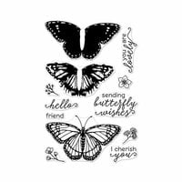 Hero Arts - Clear Photopolymer Stamps - Color Layering Monarch Butterfly