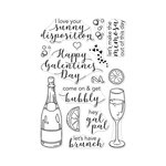 Hero Arts - Clear Photopolymer Stamps - Gal Pal Brunch