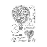 Hero Arts - Clear Photopolymer Stamps - Hot Air Blooms