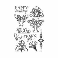 Hero Arts - Clear Photopolymer Stamps - Deco-rations