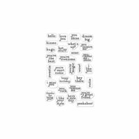Hero Arts - Clear Photopolymer Stamps - Hero Greetings Mini Messages