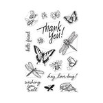 Hero Arts - From The Vault - Clear Photopolymer Stamps - Bugs