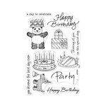Hero Arts - From The Vault - Clear Photopolymer Stamps - Birthday