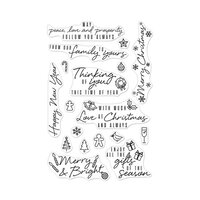 Hero Arts - Christmas - Clear Photopolymer Stamps - Holiday Messages and Icons