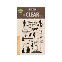 Hero Arts - Clear Photopolymer Stamps - Lake Time Fun