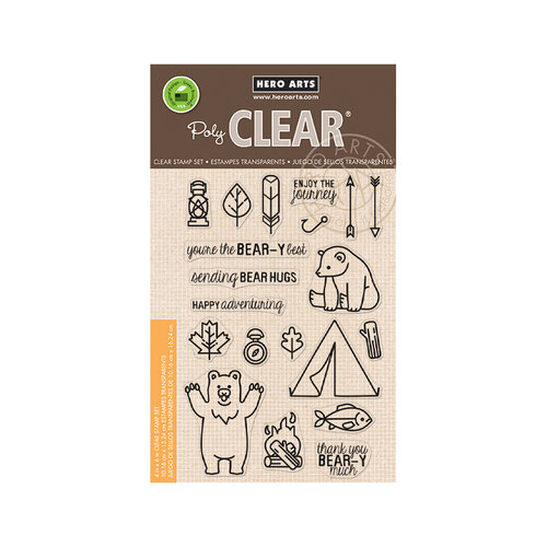 Hero Arts - Clear Photopolymer Stamps - Camp in the Wild