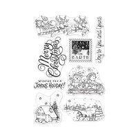 Hero Arts - Christmas - From the Vault - Clear Photopolymer Stamps - Winter Joy