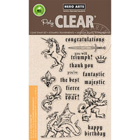 Hero Arts - Clear Photopolymer Stamps - Majestic Beasts