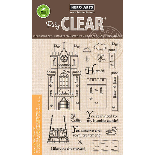 Hero Arts - Clear Photopolymer Stamps - Build A Castle