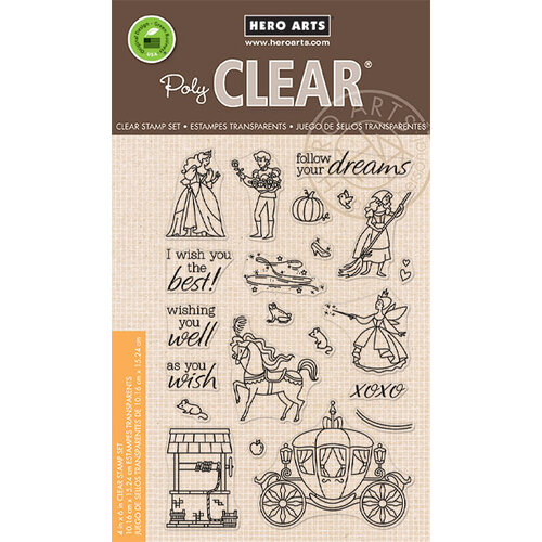 Hero Arts - Clear Photopolymer Stamps - As You Wish