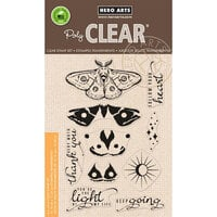 Hero Arts - Clear Photopolymer Stamps - Color Layering Moth