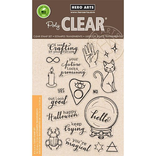 Hero Arts - Halloween - Clear Photopolymer Stamps - I See Crafting