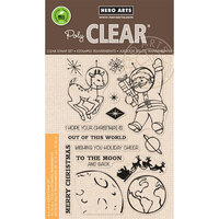 Hero Arts - Clear Photopolymer Stamps - Out of This World Christmas