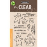 Hero Arts - Clear Photopolymer Stamps - Christmas Gingerbread Cookies