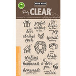 Hero Arts - Christmas - Clear Photopolymer Stamps - May Your Home Be Filled with Joy